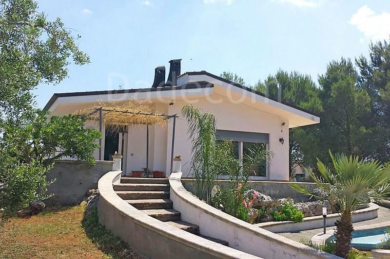 Puglia case vacanza salento villetta 10 posti letto specchia lecce nel salento - Specchia lecce mappa ...